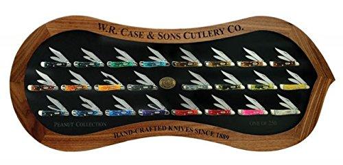Case 6220 SS 24-Piece Peanut Commemorative Knife Set 20130