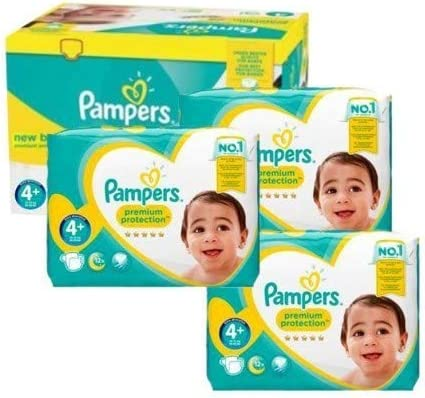 new baby premium protection Couches Pampers Taille 4 105 couches b/éb/é