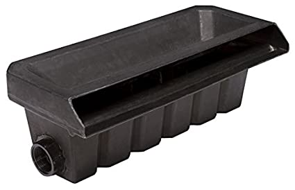 Pondbuilder Pb1762 20 Inch Diy Cascading Waterfall Box For Pond And Pondless Water Features Includes Landscape Lid And 2 Inlets