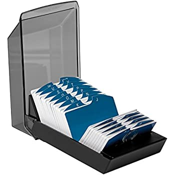 Amazon rolodex petite covered tray card file with 125 2 14 x rolodex 67011 rolodex covered business card file 500 2 14x4 cards colourmoves