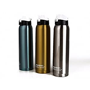 1.0L travel mug thermos bottles pot outdoor kettle termos coffee thermo bottle stainless steel 18/10 thermal insulated cup blue 1500ML