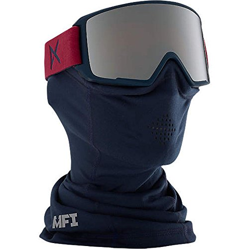 Anon M3 Snow Goggles Madeira With Silver Solex & Blue Lagoon Lens -  15239101608_Madeira/Silver Solex_One size