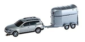 car system 161550 - Faller H0 - Car System - VW Touareg con remolque para caballos (WIKING)