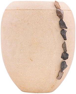 two-4-five Urna de cremación de arena biodegradable para cenizas ...