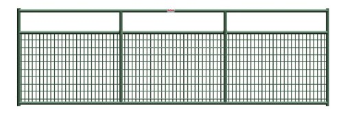 Behlen Country 40132162 16-Feet Green Wire-Filled Gate