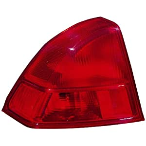 Depo 317-1938L-AS Honda Civic Driver Side Replacement Taillight Assembly