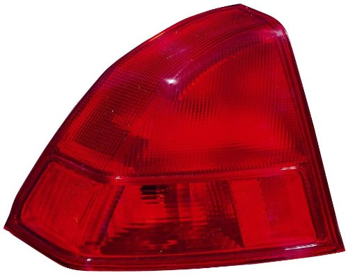 nda Civic Driver Side Replacement Taillight Assembly (Civic Tail Light Lh Driver)