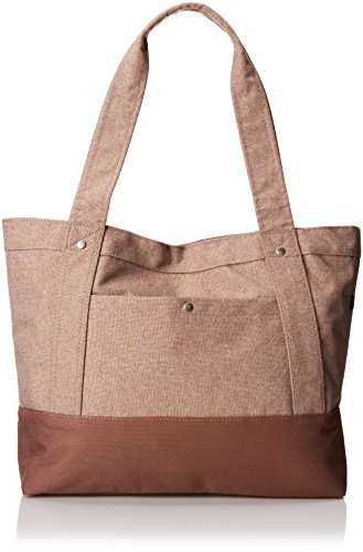 Everest Stylish Tablet Tote Bag, Tan, One Size