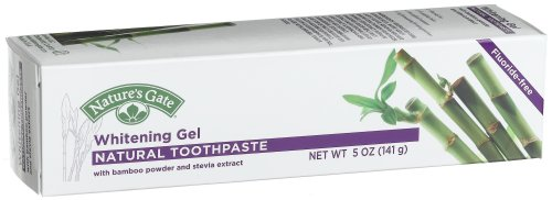 Nature's Gate Natural Toothpaste, Whitening Gel, 5 Ounce (141 - Whitening Natures Gel Gate
