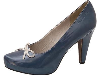 Tamaris Pumps Denim Pumps blau , Schuhgröße 39: Amazon
