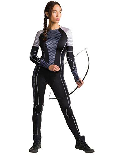 Rubie's Women's The Hunger Games Katniss Costume, Multi, - Hunger Costume Games Women