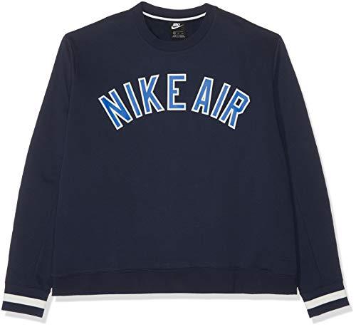 Nike Nsw Hombre Obsidian Crew M Air Camiseta Flc rpqZrz