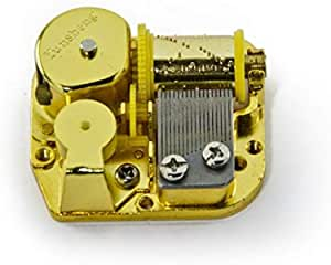 Mechanical DIY Windup Music Box  Musical Movement+Key DSU