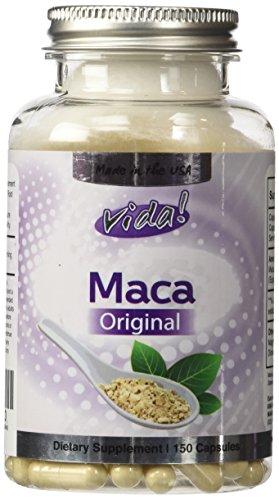 La Maca d'Origine - 4:1 Extrait (2000mg équivalent) 500 mg x 150 Capsules