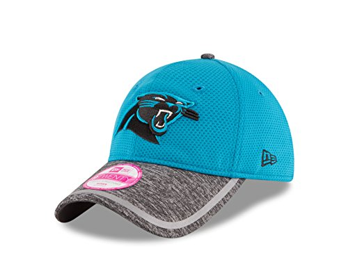 New Era NFL Carolina Panthers 2016 Women's Training Camp LS 9TWENTY Adjustable Cap, One Size, Blue/Gray (Nfl Camp Shirt)