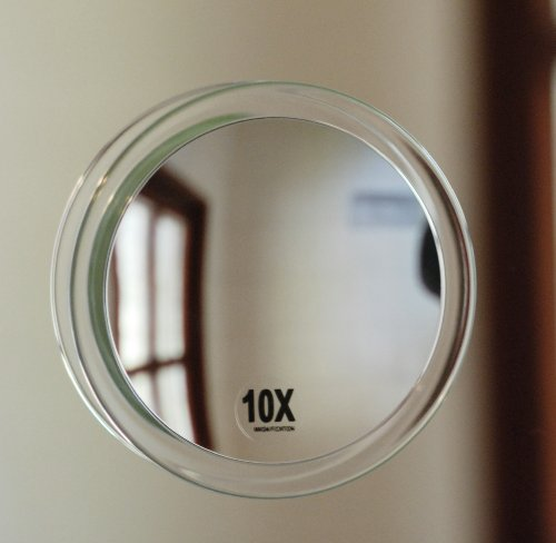 fantasia spiegel mit saugnapf acryl vergr erung 10 fach 15 cm ebay. Black Bedroom Furniture Sets. Home Design Ideas
