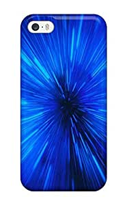 AMGake Iphone 5/5s Well-designed Hard Case Cover Blue Special Effect Protector