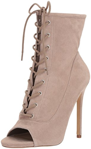 Steve Madden Stiletto Boots (Steve Madden Women's Saint Fashion Boot, Taupe Suede, 7.5 M US)