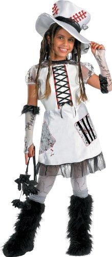 Monster Bride (White) Child (Bride Of Frankenstein Child Costume)