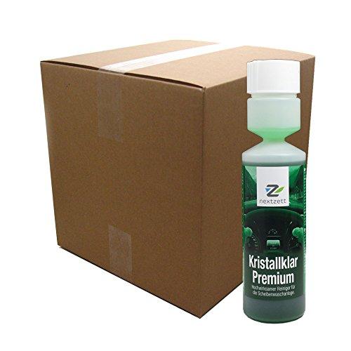 nextzett 921009 Kristall Klar Washer Fluid Concentrate - 8.5 fl. oz., (Pack of 20) by nextzett