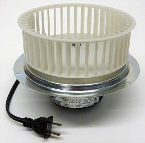 40696 Vent Bath Fan Motor & Blower Wheel for 0696B000 Nutone Broan QT110 (Bath Fan Blower Wheel)