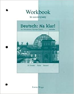 Book Workbook to accompany Deutsch: Na klar! An Introductory German Course