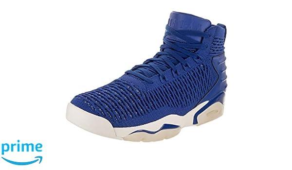 the best attitude 05991 735b6 Amazon.com   Jordan Nike Men s Flyknit Elevation 23 Basketball Shoe 10 Blue    Basketball