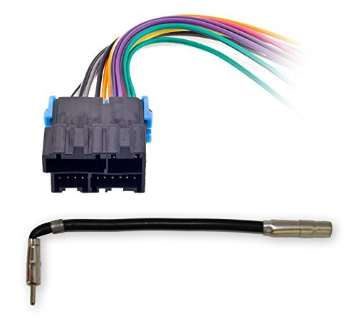 Metra 70-1858 Radio Wiring Harness for General Motors 1988-2005 + GM-10 Antenna Cable
