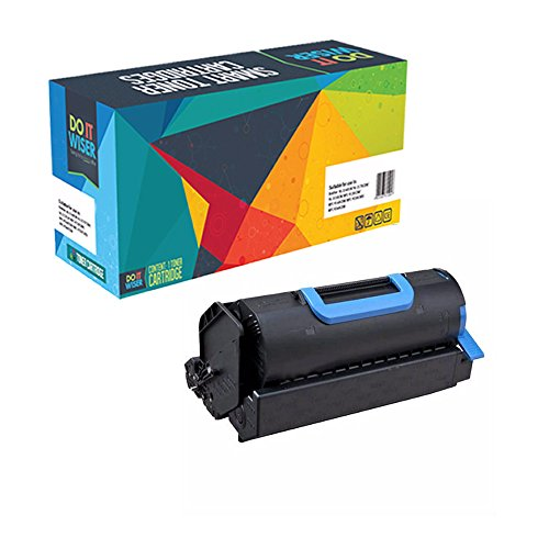 Do It Wiser Compatible Toner Cartridge for Okidata B721/B721dn/B731/B731dn - 45488801-18,000 pages -