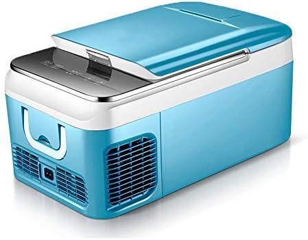 26L 車の自動冷凍機のフリーザーのクーラー AC100-240v/DC12/24V 携帯用小型冷却装置の圧縮機 ピクニックの冷凍 -20~10 度(色: 青)を運転するための