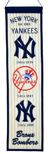 MLB New York Yankees Heritage Banner