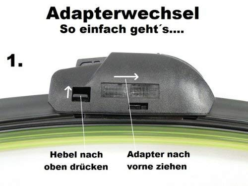 Scheibenwischer Set Satz Premium f/ür Opel Mokka//Mokka X BJ 2012 Heute