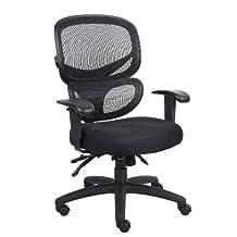 Multi-Function Ergonomic Mesh Chair Comfort Highly Adjustabl Desk Task Office Chair Fabric Seat Cushion
