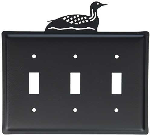 8 Inch Loon Triple Switch Cover