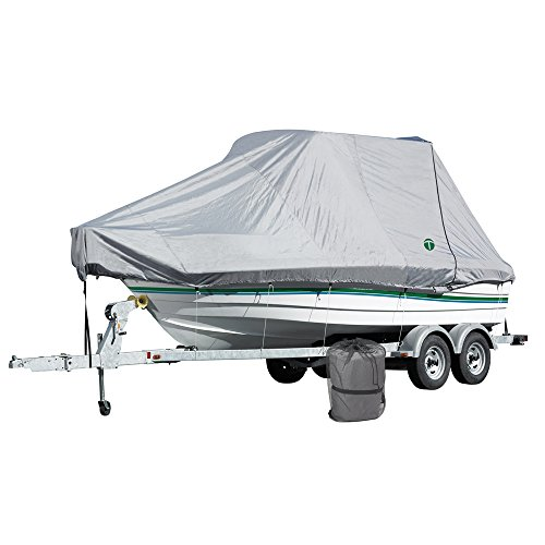 Titan by Eevelle W/T-Top Outboard Boat Cover - fits 26.5' Long to 8.5' Wide Boats - 317