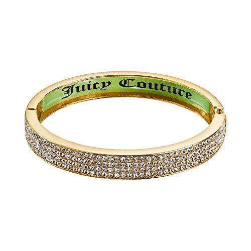Juicy Couture Pave Bangle Bracelet (Gold)