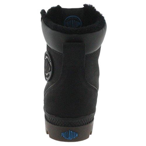 Palladium Pampa Sport Cuff WPS Womens Boots Black Black Dark Gum oGUEExl