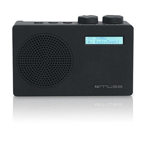 Muse M-100 DB draagbare digitale radio (DAB, DAB+, FM/RDS) zwart