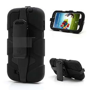 Griffin Survivor Shockproof with Belt Clip for Samsung Galaxy S4 i9500 / i9505 in Retail Pacakage (Black)