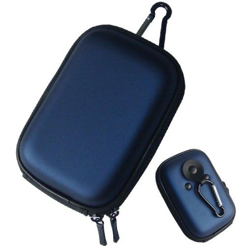 First2savvv blue EVA Carrying Case bag for Nikon COOLPIX S96