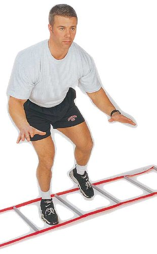 Hard Rung Speed Ladder by Great Lakes Sports