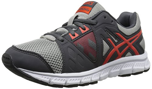 ASICS GEL-Craze TR 3 GS Training Shoe (Little Kid/Big Kid), Dark Grey/Orange/Black, 6 M US Big Kid