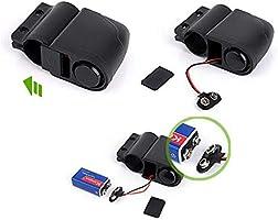 antirrobo Motocicleta de Seguridad inal/ámbrico motorizado con Sensor Remoto para Bicicleta el/éctrico FOONEE candado de Alarma para Bicicleta