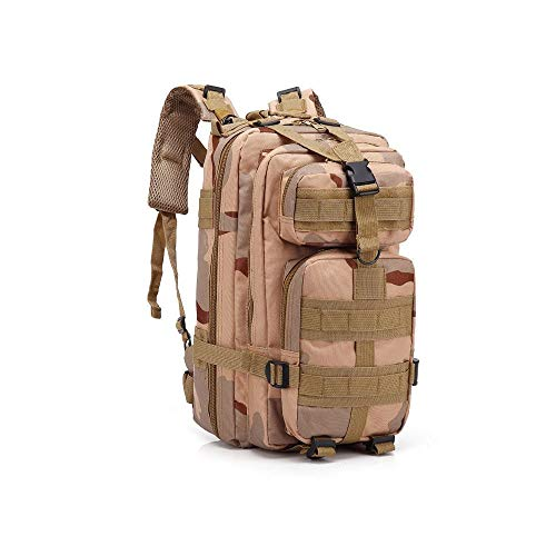 f1c78b4e6e2c Sonoma Valley Military Tactical Backpack 3 Day Army Molle Assault 30L Waterproof  Rucksack Hydration Pack Camel