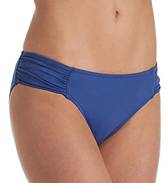 Amazon.com: Seafolly Women's Ruched Side Retro Medium