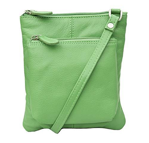 Small Green Hide C 980 Leather Prime Fashion Bag Crossbody Ladies w4FEnRzq6