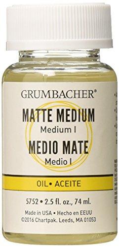 - Grumbacher Medium I for Oil Paintings, 2-1/2 Jar, #5752