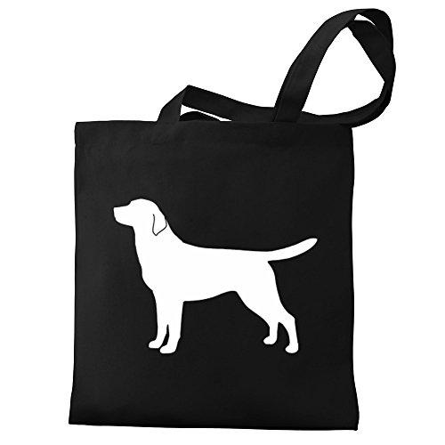 Eddany Labrador Retriever silhouette Bereich für Taschen