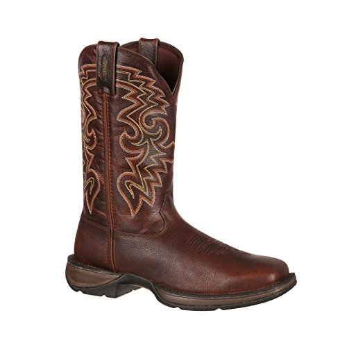 Rebel By Durango Mens 12 Marrone Scuro Pull-on Western Boot-db5434
