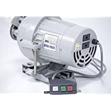 Clutch Motor Industrial Sewing Machine 1/2 HP/110/220 V Shaft size Amco, 3/4 (1750 RPM low speed)